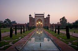 The Taj Mahal entrance gate, Agra