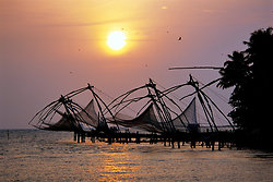 Chinese Fishing nets - Cochin, Kerala