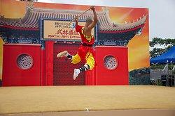 KM-388 Shaolin monks Kung Fu show at Po Lin Monastery