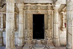Entrance door- Nagda Temple near Udaipur