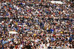 KM-220 Race crowd at Shatin - 1995