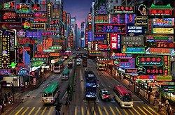 Neon Fantasy #3 Hennessy Road, Wan Chai, Hong Kong