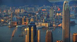 KMPAN-10 the IFC & Tsim Sha Tsui from the Peak - 2014