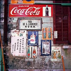KMMACAU-2 Macau wall - 1978