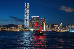 The Aqua Luna sails off to West Kowloon & the ICC -  DSC_5288