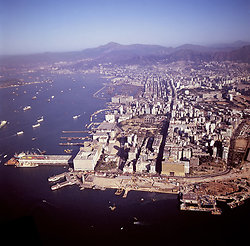 KM-190 Aerial of Kowloon - 1977