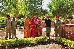 JodhpurBalsamand Lake Garden workers
