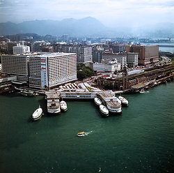 KM-198 Tsim Sha Tsui , the Star ferry & the old Kowloon station - 1972