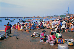 Vishinjum Fishing village, Thiruvananthapuram - Kerala