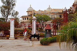 Udaipur - City Palace Guard