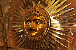 Sun God in the City Palace, Udaipur