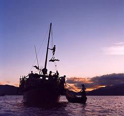 KM-05 Fishing boat near Hei Ling Chau - 1973