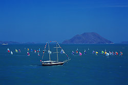 KM-248 Hiltons Wan Fu with 505s regatta - 1987