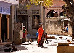 Chatra Sagar village street