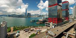 KMPAN-112 View from Sheung Wan to the Macau Ferry terminal