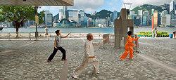 KMPAN-114 Tai Chi teaching on the Tsim Sha Tsui waterfront