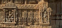 Nagda Temple frieze, Rajasthan