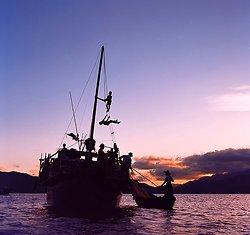 KM-05 Fishing boat at Hei Ling Chau - 1973