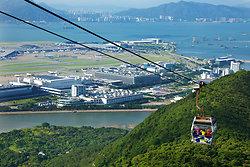 KM-358 Gong Ping cable car  Chek Lap Kok airport