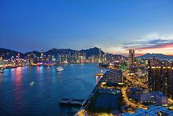 KM-313M Hong Kong  from Hunghom at night- DSC_9998