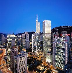 KM-118 Bank of China, Cheung Kong Centre & HSBC - 2007