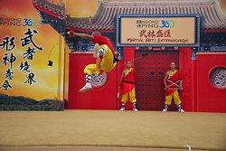 KM-380 Shaolin monks Kung Fu show at Po Lin Monastery