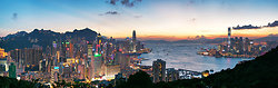 KMPAN-35 Hong Kong island & harbour from Braemar Hill - 2013