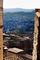 Jodhpur Town from Mehrangarh fort