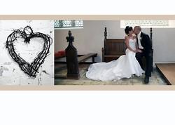 1 wedding album layout, norfolk wedding photographer