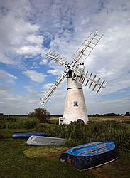 Thurne Mill in Summer