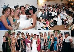 6 wedding album layout, norfolk wedding photographer