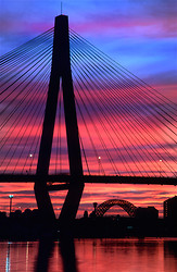 Anzac Bridge vertical