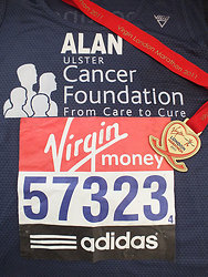 Running Medals and Race Numbers portfolio