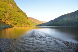 Glendalough Stream Sunrise