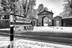 Russborough Gate Winter II..