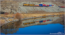 Train Reflection