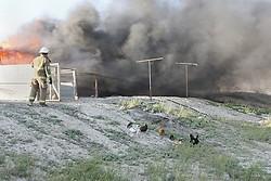 Carr Lane - Trailer Fire