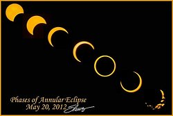 Annular Eclipse Montage