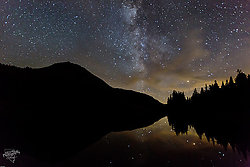 Highland Lake & Milky Way