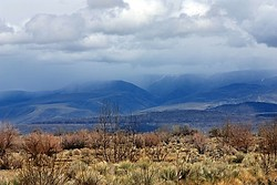 Storm in the Stillwater Mountains