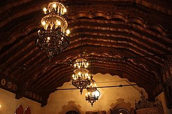 Scotty's Castle Music Room Ceiling