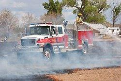 Lucas Road Field Fire