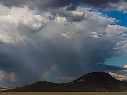 Rain on the Playa