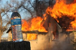 Too much fire-not enough water!