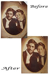 Great-Grandparents Salazar - Restoration