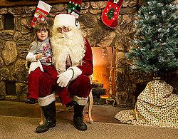 Colbie and Santa