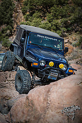 Jeep in the Rocks
