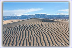 Mesquite Sand Dunes - Death Valley