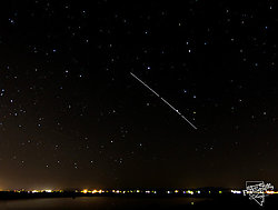 International Space Station over Fallon