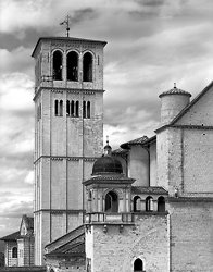 Bell Tower of Domo Assissi, Assissi Italy (5512)